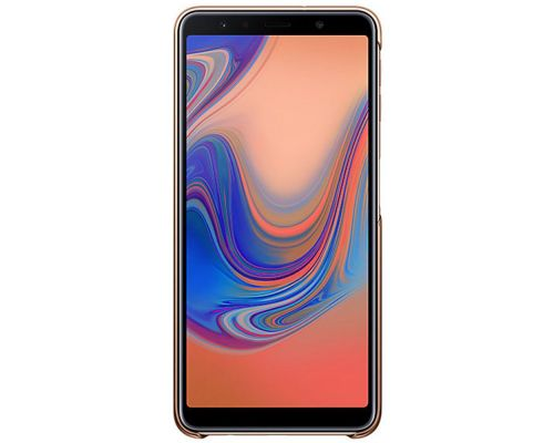 Cover, Samsung Gradation Cover Galaxy A7 (2018), Gold, image 3