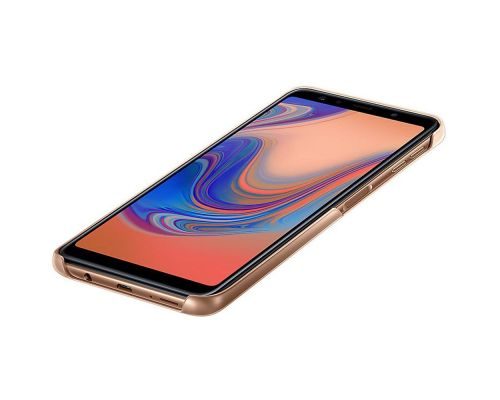 Cover, Samsung Gradation Cover Galaxy A7 (2018), Gold, image 4