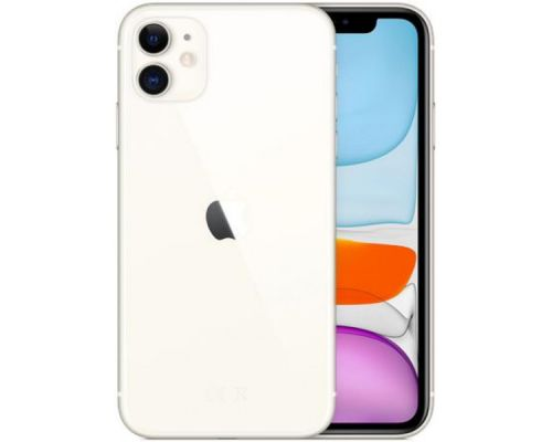 Apple iPhone 11, 6.1 inches, Hexa-core, 64GB, 12MP + 12MP,  White, image 3