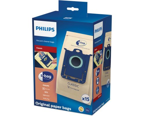 PHILIPS FC8019/03, s-bag Classic paper (15-pack), image 1