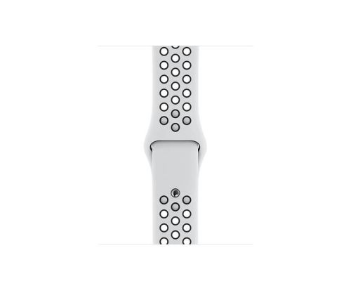Apple Watch Nike Series 5 GPS, 44mm Silver Aluminium Case with Pure Platinum/Black Nike Sport Band, image 3