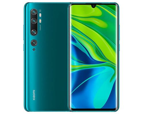 Xiaomi Mi Note 10 Dual SIM, 6.47 Inchs, Octa-core, 128GB, Penta Rear Cameras, 6GB Aurora Green, image 1